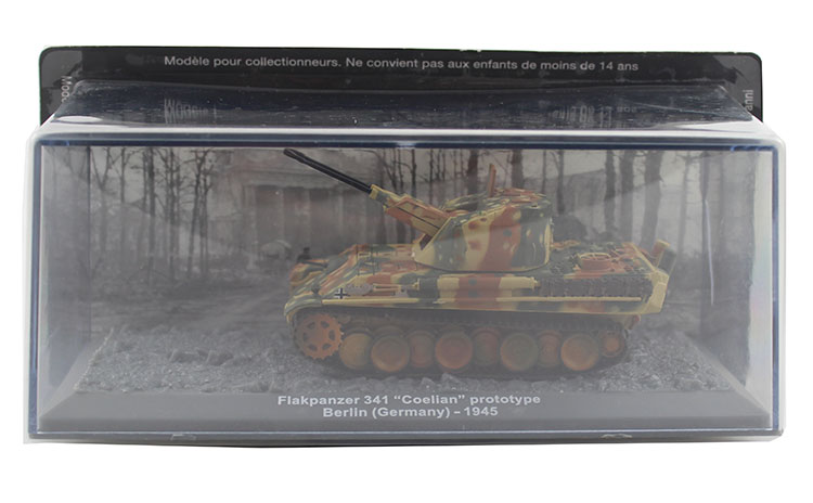 IXO 1/72 the German army Flakpanzer 341 Coelian air defense tank model Alloy collection model Holiday gift 1 30 wwii german mechanized forces captured the urban combat scenarios alloy model suits the scene fm