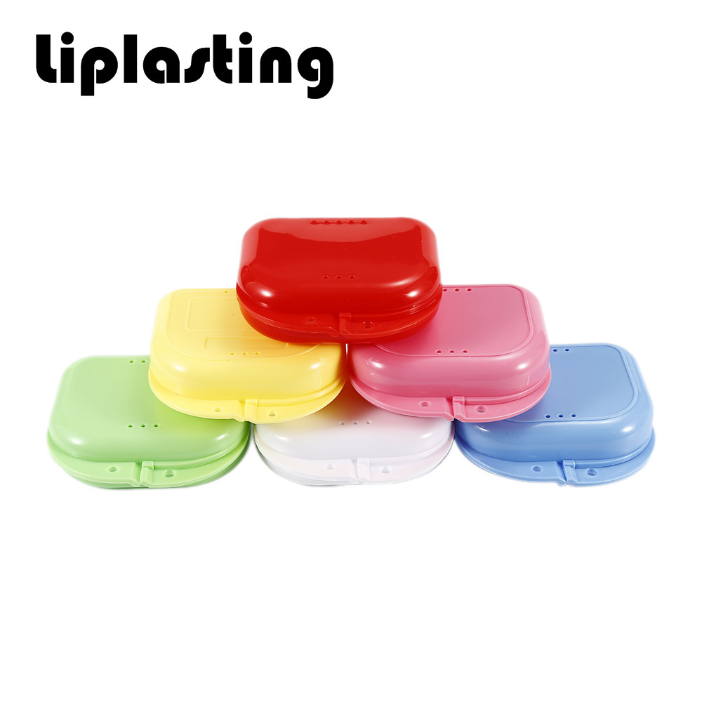 Compact Colorful Dental Orthodontic Retainer Box/Case mouthguards ...