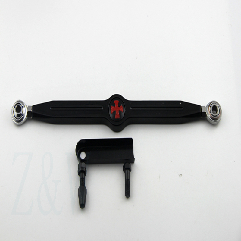 Free Shipping Black Cross Motorcycle Shift Linkage Link Cruiser For 1980-2015 Harley Davidson Street Glides беседка puma