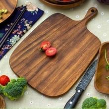 Breadboard Pizza board Fruit cutting board Environmentally friendly natural wood Chopping Board Wooden Tableware syb 120 universal 700 point circuit board breadboard deep blue