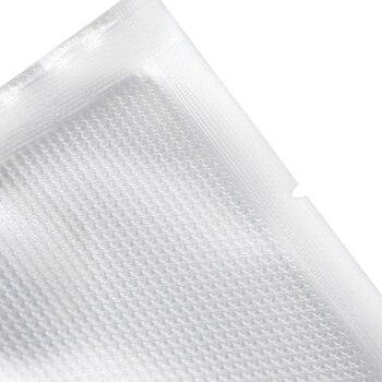 100PCS/lot Vacuum sealer Plastic Storage bag for vacuum sealing machine for pack food saver Packaging Rolls packer seal bags 1