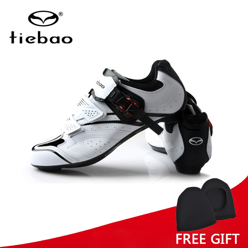 Tiebao Professional Men Cycling Shoes Outdoor Sports Racing Athletic Shoes Breathable Road Bike Bicycle Self-Locking Shoes free shipping breathable athletic cycling shoes road bike bicycle shoes nylon tpu soles for road racing mtb eur35 39 us3 5 7