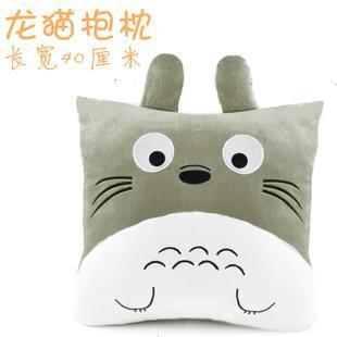 Totoro pillow back cushion plush toy birthday gift cushion doll birthday gift