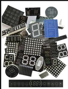 Image 1 - 500g mixed digital tube splayed tube dot matrix   display mixed electronic parts package
