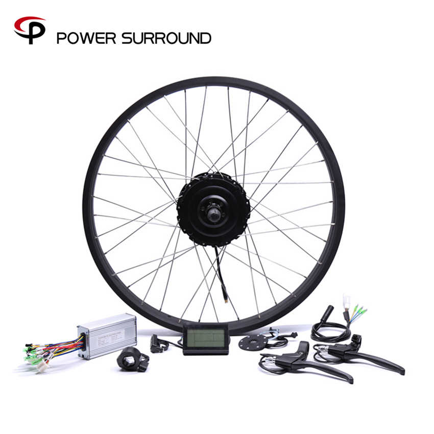 Real 2019 Rushed 48v750w Bafang Fat Rear Electric Bike Conversion Kit Brushless Motor Wheel With 20'' 26''rim