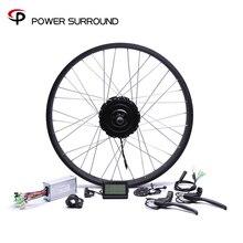 Реальный 2019 бросился 48v750w Bafang Fat задний Электрический велосипед конверсионный комплект бесщеточный мотор колеса с 20 »26» обод