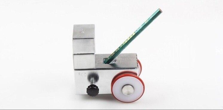 500g, 750g, 1000g Tragbare Bleistift Beschichtung Scratch Härte Tester Maschine, Steifigkeit Bleistift Malerei Sclerometer Durometer H äSthetisches Aussehen