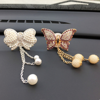 car air outlet JOORMOM bow tie pendant air outlet, perfume clip creative car accessories female vehicle aromatherapy car decoration interior (2)