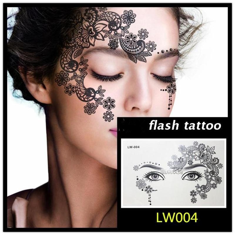 Ζεστό πώληση Masquerade flash επικόλληση - Τατουάζ και τέχνη του σώματος - Φωτογραφία 4