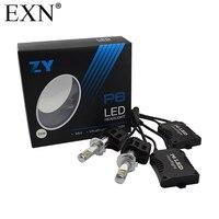 1Set High Quality 110W 10400LM LED Headlight H7 P6 Car LED Headlight H7 6000K 360 Degree