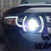 factory Car Head lamp for FJ Cruiser LED headlight 2007 2008 2012 2014 FJ Cruiser head light H7 Xenon with middle Grille