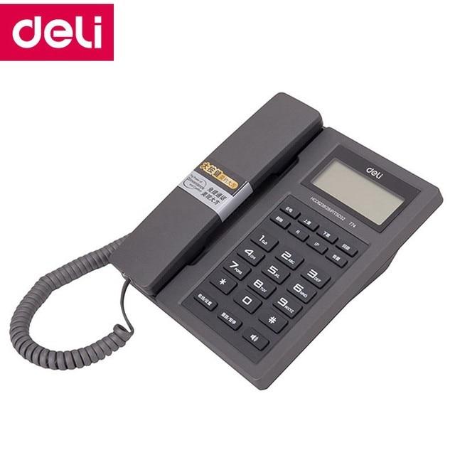 Online Shop Deli 774 seat type telephone corded phones home office ...