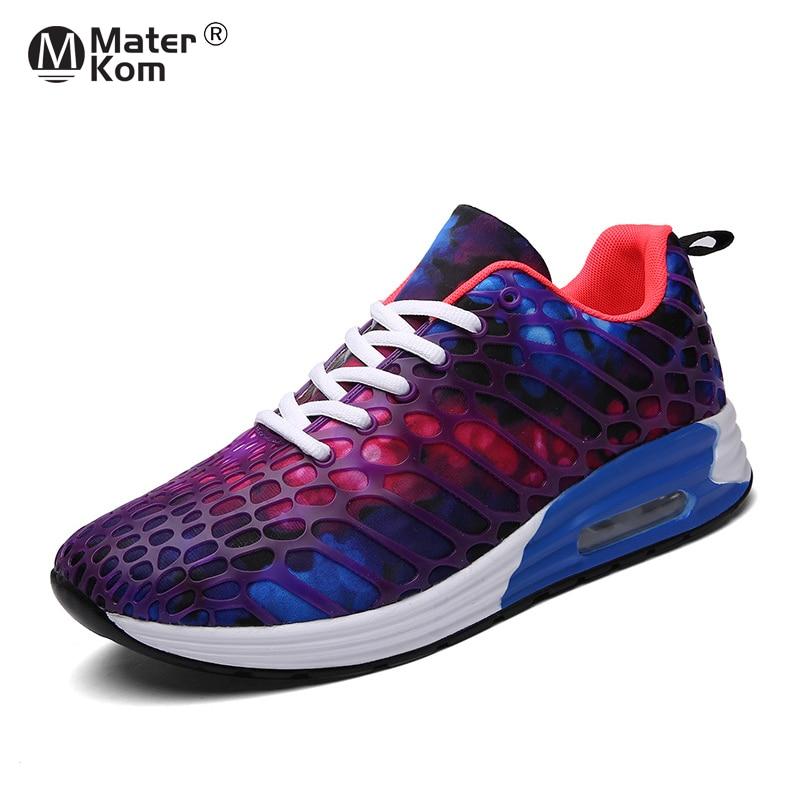 Size 35-45 2019 New Women Road Running Shoes Air Cushion Sport Sneakers Men Outdoor Walking Shoes Women Trekking Shoes For Men