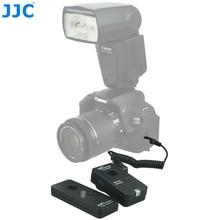 Jjc 2.4 جيجا هرتز كاميرا لاسلكية تحكم عن 100 متر التحكم dslr ل الكنسي eos 1ds مارك الثالث/eos 6d مارك الثاني/eos 5d مارك الرابع