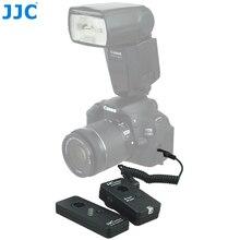Jjc câmera remota wireless, controle remoto para canon eos 850d 5d 6d 50d 1ds mark iii 6dmark ii 5dmark iv substituição do canon RS 60E3 RS 80N3