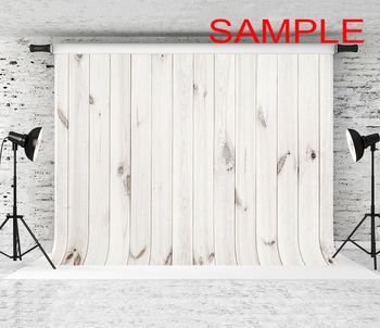 5x7ft Happy Easter Bunny Eggs Rabbits Chicken White Stripes Wood Polyester Photo Background Portrait Backdrop 1