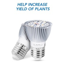 E27 Full Spectrum Led 200V Plant Grow Light Bulb E14 Fito Led 18W 28W Growing Light 5730SMD Led Lamp For Indoor Flower Grow Tent недорого