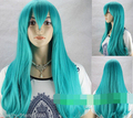 xiuli 0003173 New Cosplay Fashion Women/Girl's Dark Turquoise Reflex Action Long Wig