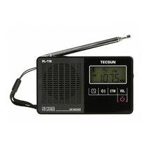 TECSUN PL-118 ультра-легкий мини радио, PLL DSP FM радиоприёмник