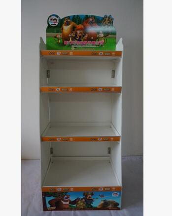 Exhibition Stand Shelves : Cardboard exhibition booth stand paper showing display shelves in