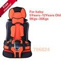 Proteção do carro Crianças, 5-12 Anos, 9-36Kgs Old Lovely Baby Car Seat, Portátil e Confortável Infantil Assento do bebê, Almofada Bebê Prático
