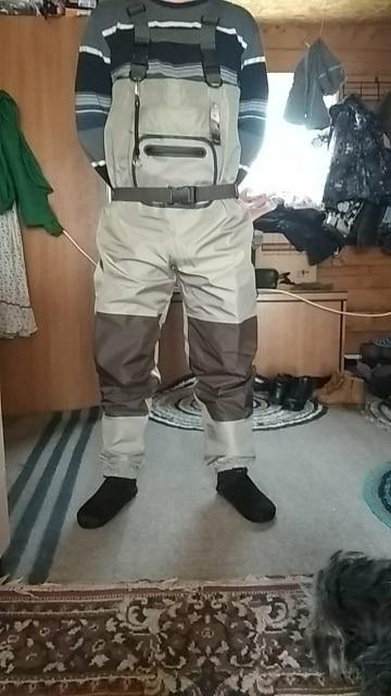 Pieds de pêche à la mouche en plein air imperméables pantalons à la  poitrine respirants et imperméables à la poitrine avec chaussette une  boucle