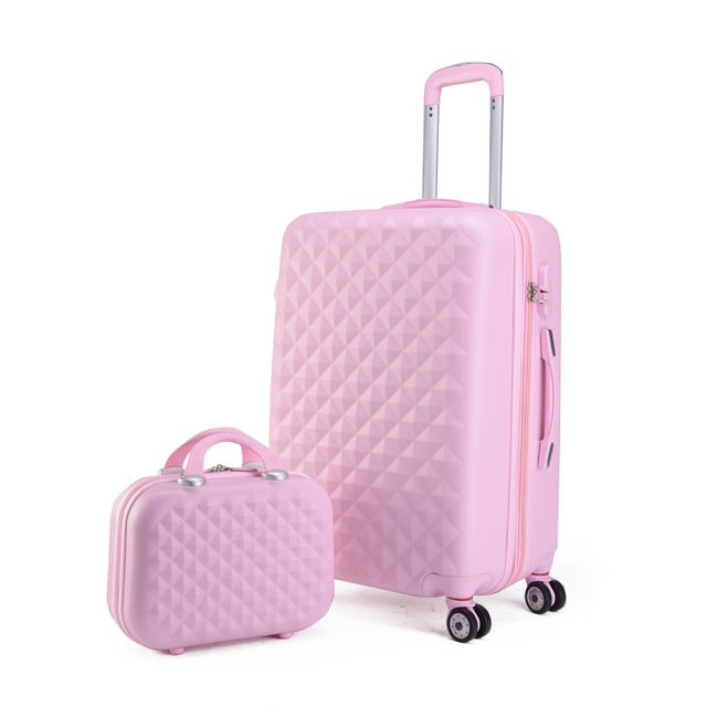 bf5843974 Paul luggage universal wheels trolley luggage travel bag hard case diamond  picture box female password box pull box,luggage sets