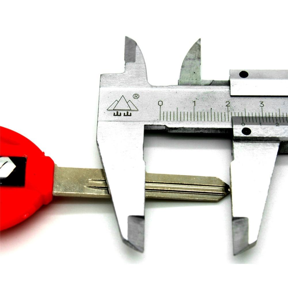 Universal Motorcycle Accessories Motorcycle Key Blank Uncut Key For Suzuki GSX GSXR 400/600/750 1000/1300 BANDIT HUYABUSA