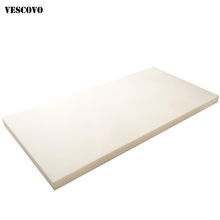 VESCOVO 120*200 150*200 180*200 foam mattress tatami mat thicker mattresses topper for bed cheap 3cm-8cm mattresses topper bed Bedroom Furniture Sponge china Home Furniture Spring Queen twin full Size