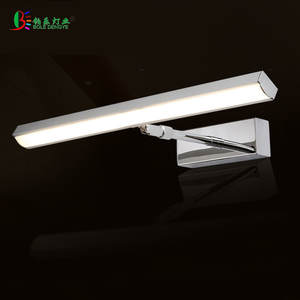 Cabinet-Lighting Stainless-Steel Wall-Lamp Living-Room-Decoration Bathroom European-Style