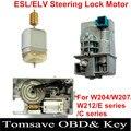 Alta Qualidade ESL/Bloqueio da Direcção da Roda Do Motor Motor para Mercedes ELV W207 W212 W204 C180 C200 E200 GLK300 E260 E300 E350 GLK350