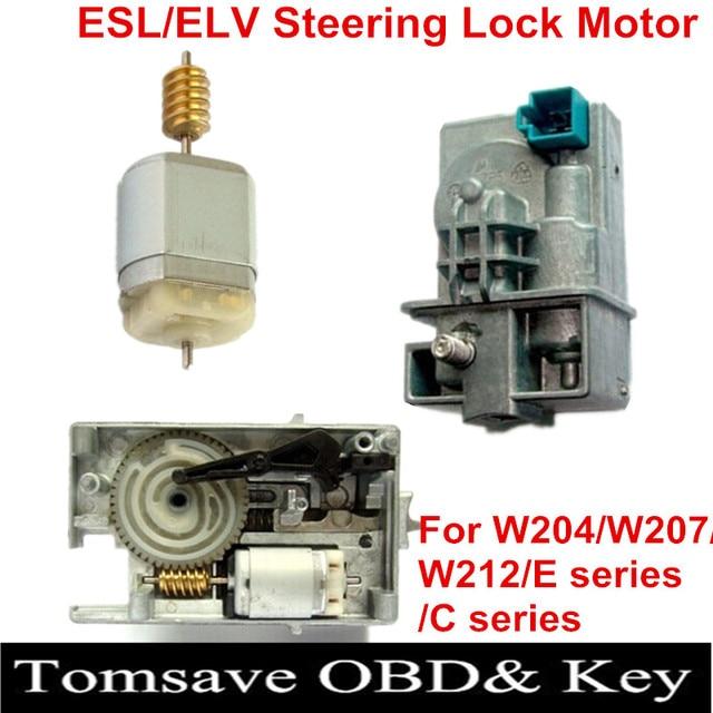 High Quality ESL/ELV Motor Steering Lock Wheel Motor for Mercedes W204 W207 W212 C180 C200 E200 E260 E300 E350 GLK300 GLK350