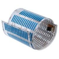 Nouveau 70*16 cm Auto Voiture Rhythm Lueur Plus Bleu LED Glow Light Lampe Sonore Activé Capteur Égaliseur Voiture autocollants