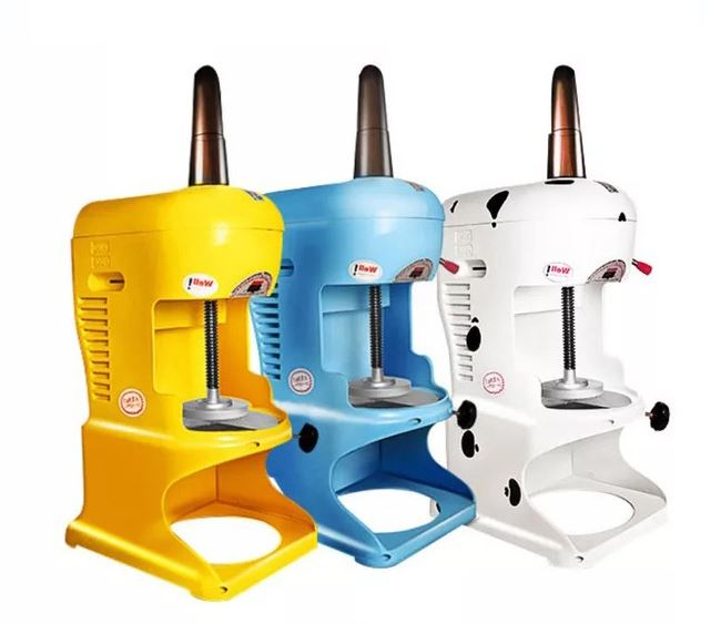 Ice Crushers Mianmian ice machine commercial milk tea shop all electric snowflake breaker fancy NEW image