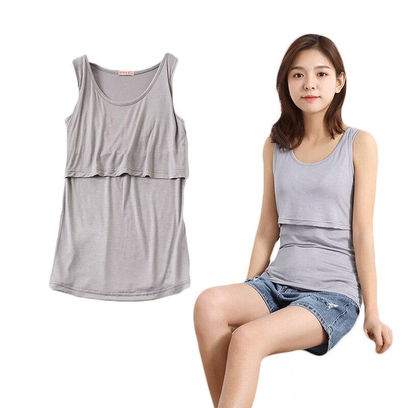 Pregnancy Cotton Maternity Clothes Maternity Women Casual Tops T-shirt Breastfeeding Shirt Nursing Tops Lactancia Pregnant A19