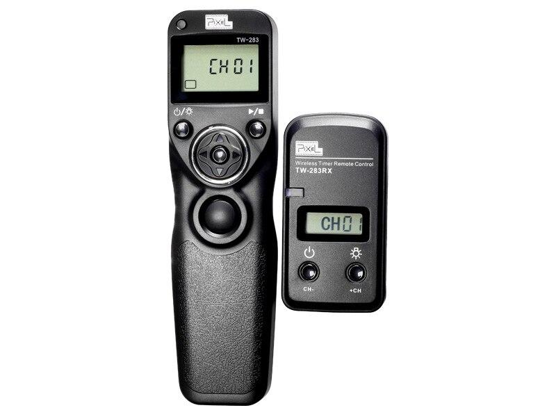 Remoto sem Fio do Temporizador Obturador para Canon Pixel Timing Controle Eos 750d 650d 600d 550d 500d 450d 350d Pentax k5 e3 Tw-283