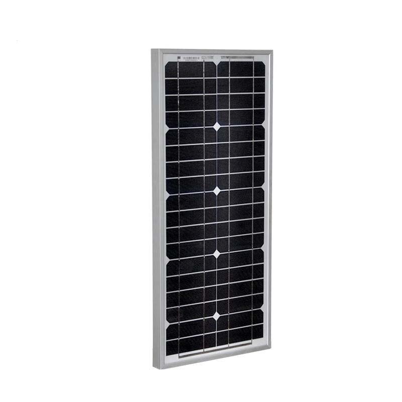 Panel Solar Kit 12v 20w Solar Battery Charger Solar Charge Controller 12v 24v 10A Z Bracket Solar Caravan Camping Rv Motorhome in Solar Cells from Consumer Electronics