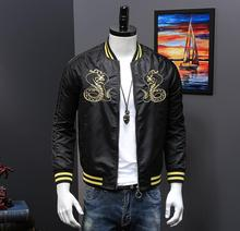 2019 nieuwe mode mannen jas aangepaste ontwerp F051