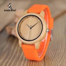 Relogio feminino BOBO BIRD นาฬิกาผู้หญิงซิลิโคนหรูหราญี่ปุ่นนาฬิกานาฬิกาควอตซ์แฟนนักเรียน Great ของขวัญ