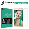100% Original Seyisoo Premium Front 2.5D Film Screen Protector Tempered Glass For ZTE Nubia Z9 Max Z9max Toughened Guard Cover