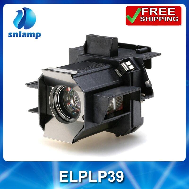 Совместимость высокого качества лампы проектора ELPLP39 V13H010L39 с корпусом для EMP-TW700 EMP-TW980 EMP TW2000 дома cinema1080 т. д.