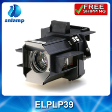 Compatible high quality projector lamp ELPLP39 V13H010L39 with housing for EMP-TW700 EMP-TW980 EMP TW2000 HOME CINEMA1080 ect.