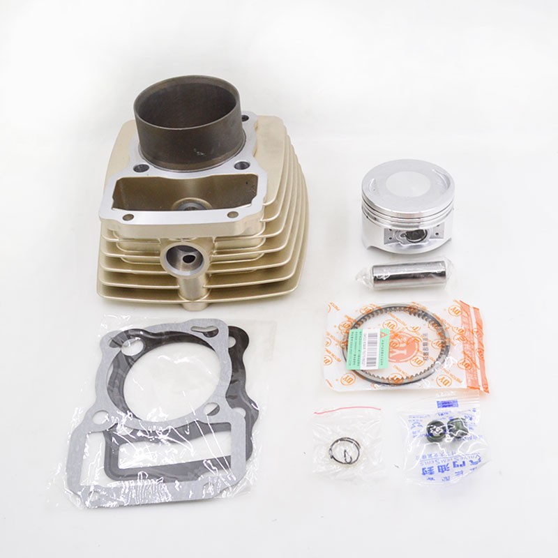 Motorcycle Cylinder Piston Ring Gasket Kit 63.5mm Bore 196cm3 For Zongshen CG200 CG 200 Air-cooled Engine Spare Parts motorcycle cylinder kit 67mm bore for shineray cg250 cg 250 250cc air water double cooled engine spare parts