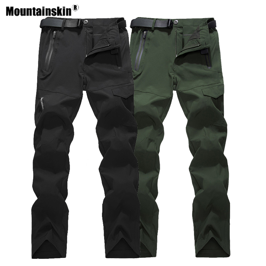 Mountainskin Men's Quick Dry Hiking Pants Summer Outdoor Sports Waterproof Fishing Climbing Trekking Camping Male Trousers VA537
