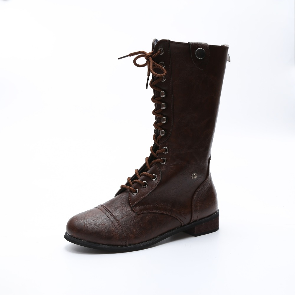 2017 Hot Women Boots High Heels Mid-Calf Boots Pointed Toe Motorcycle Boots Fashion Sexy Winter Mid-Calf Boots Heels Zipper superstar cow suede tassel leather boots platform zipper med heels rivets snow boots round toe mid calf boots for women l2f7