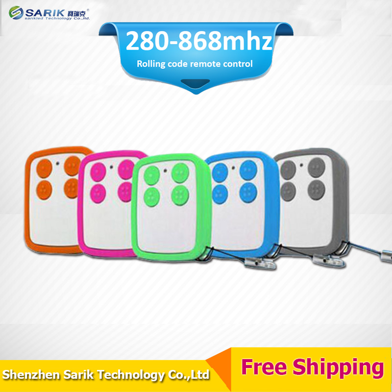 Hot sales multi frequency 280 868mhz duplicator rolling code garage door remote control