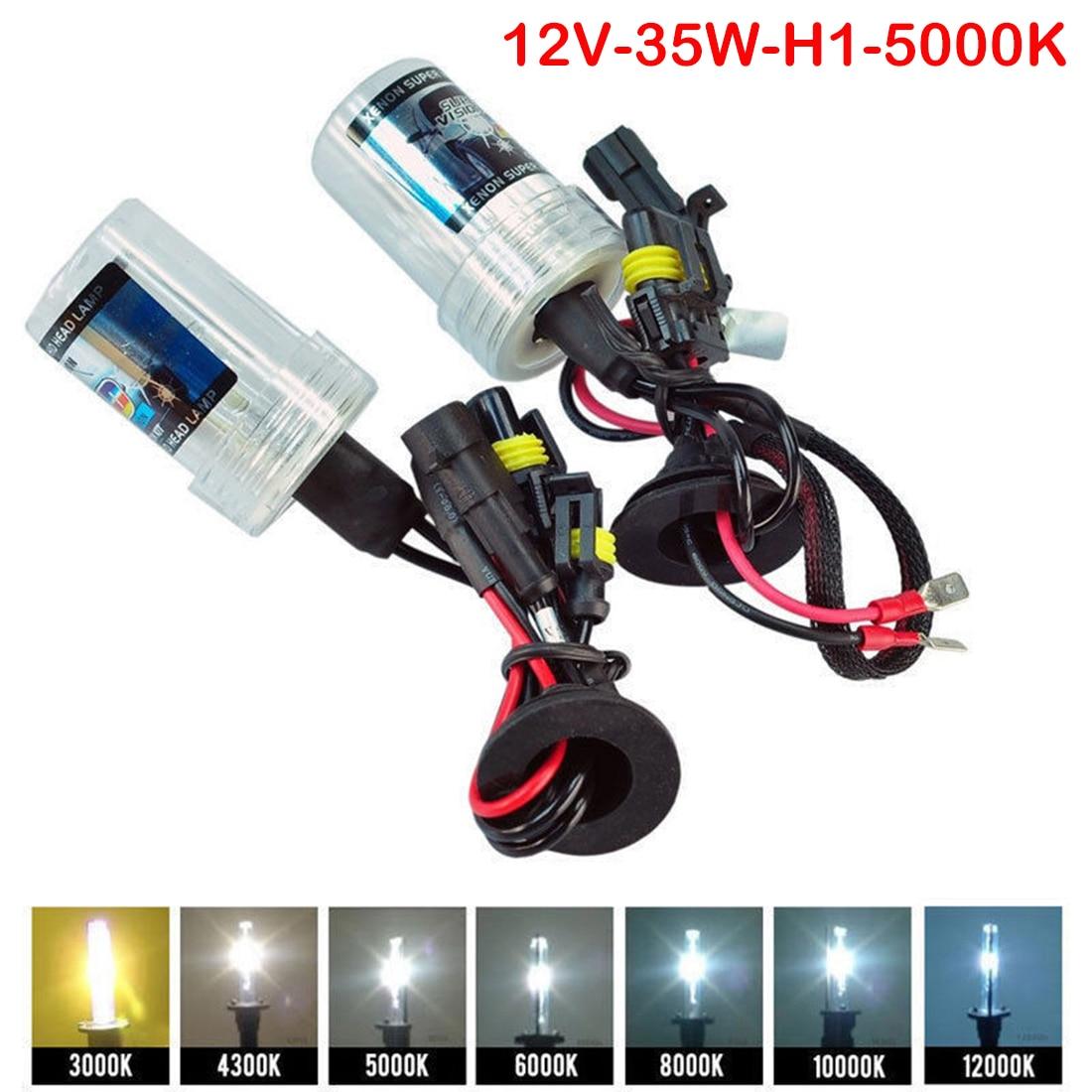 H1 H3 H7 H11 9005 9006 880 35W 55W HID Xenon Bulb Auto Car Headlight Lamp 3000k 4300k 5000k 6000k 8000k 10000k 12000k