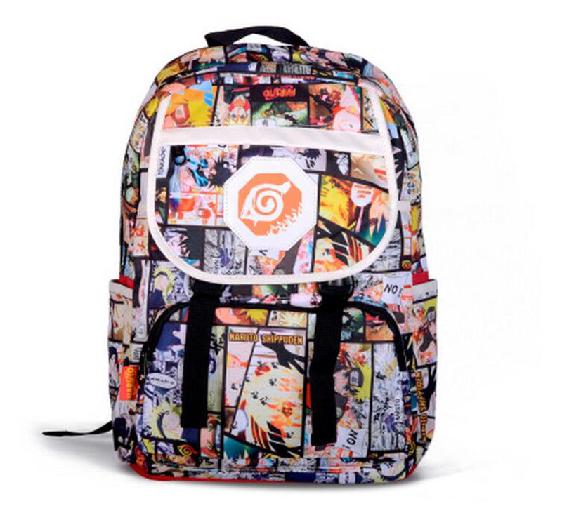 2018 Anime Naruto Cartoon Canvas Backpacks Unisex Tokyo Ghoul Schoolbag one punch man Cosplay Student Rucksack D82306 anime tokyo ghoul dark in light luminous satchel backpack schoolbag shoulder bag boys gilrs cosplay gifts