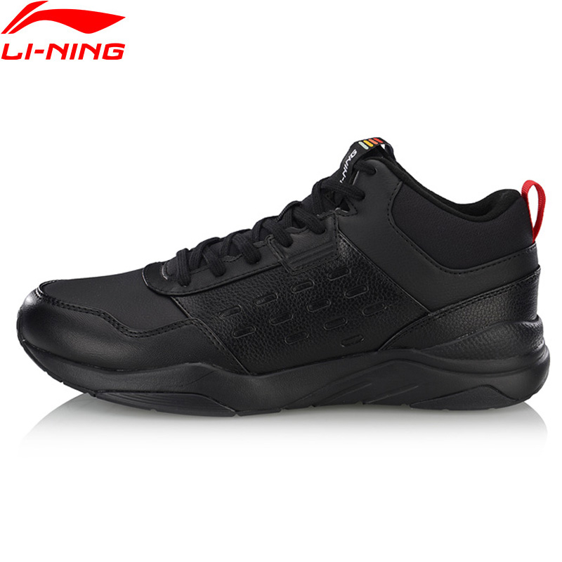 Li Ning Men LN DEFENDER Walking Shoes Wearable Breathable LiNing Comfort Sport Shoes Classic Sneakers AGCN123