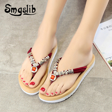 Woman Flip-flops Lady Slippers Fashion Casual Beach Sandals Home Women 2019 Summer PlatformSexy
